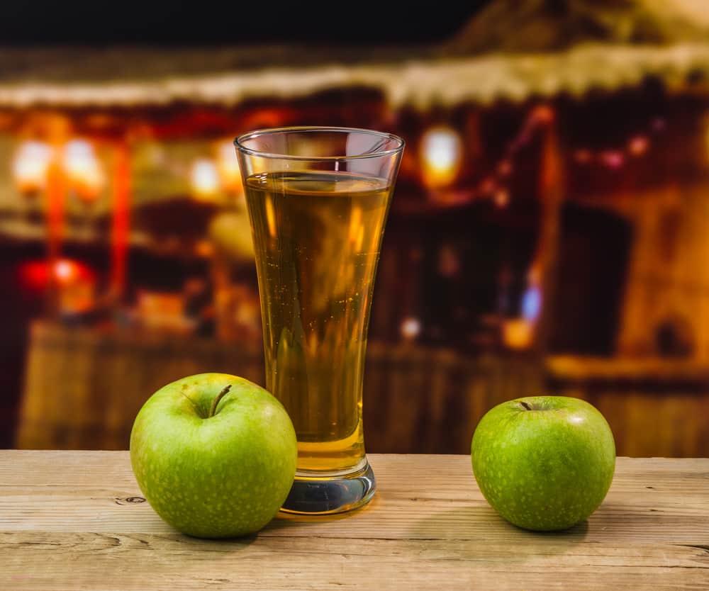 настойка на яблоках и водке